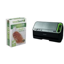 FoodSaver V4440 2-in-1 Automatic Vacuum Sealing System and T