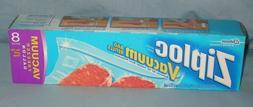 Ziploc Vacuum Bag Refills ~ 8 Freezer ~ Gallon Size ~ NEW Se