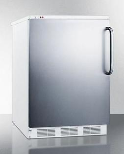 "Summit VT65M7SSTB 24"" Commercially Approved Upright Freezer"