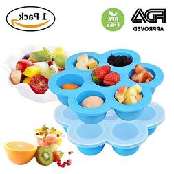 Weaning Baby Food Silicone Freezer Tray Storage Container BP