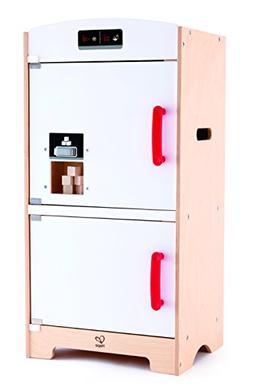Hape Fridge Freezer Play Kitchen, White