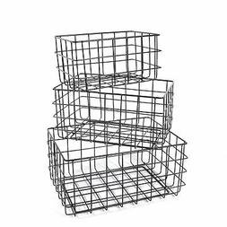 SLPR Wire Storage Basket  | Organizer Bin Baskets for Kitche