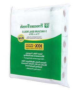 "5 Pack – Freezer Fresh 11"" x 20' Commercial Grade Vacuum S"